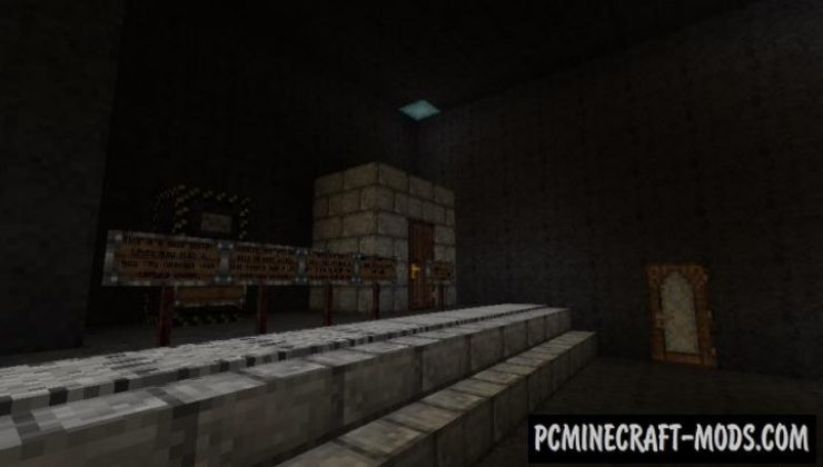 Isolated - Horror Map For Minecraft