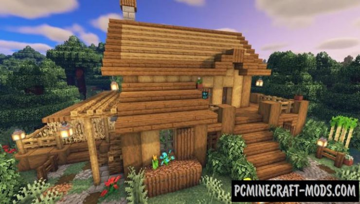 Starter Survival House Map For Minecraft