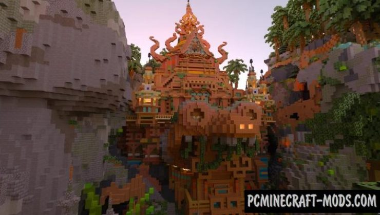 Tears Of Jungle - 3D Arts Map For Minecraft