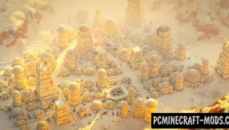 Tatooine - City Map For Minecraft