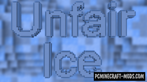 Unfair Ice - Puzzle Map For Minecraft
