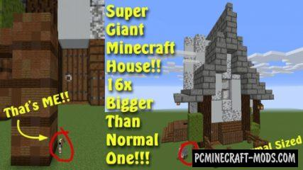 Jumbo House Parkour! Map For Minecraft