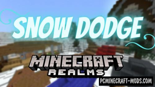 Snow Dodge - Minigame Map For Minecraft