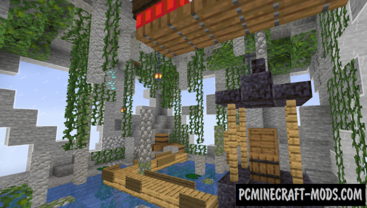 One Chunk Parkour! Map For Minecraft