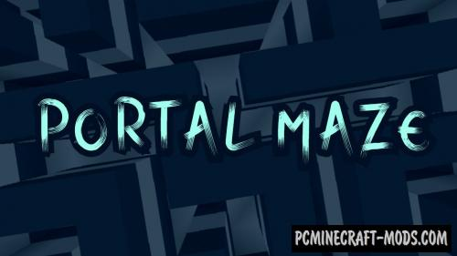 Portal Maze - Puzzle Map For Minecraft
