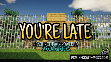 You're Late (For School) - Parkour Map For Minecraft