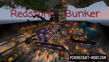 Smart Redstone Bunker Map For Minecraft