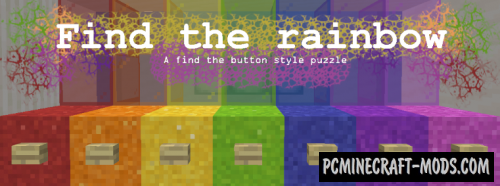 Find the Rainbow - Finding, Puzzle Map For MC
