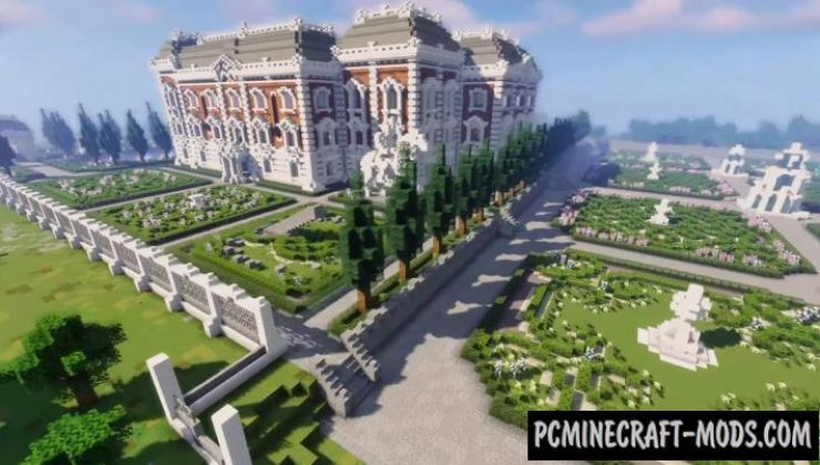 Baroque Palace II - Castle, Building Map For MC