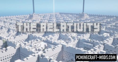 The Relativity - Parkour, Puzzle Map For Minecraft