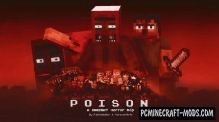 Poison - Horror, Adventure Map For Minecraft