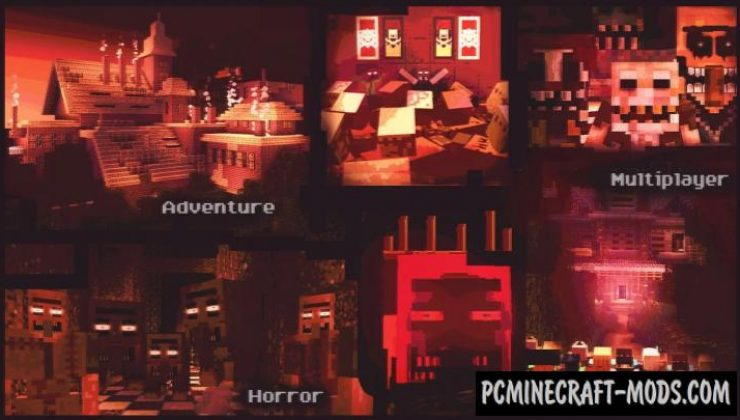 Poison - Horror, Adventure Map For Minecraft