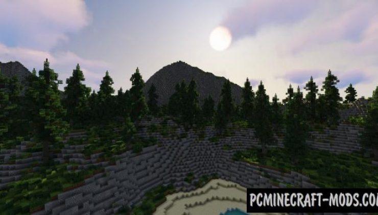 Galeia - Custom Terrain Map For Minecraft