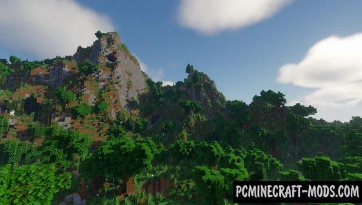 Piglin's Path - Custom Terrain Map For Minecraft
