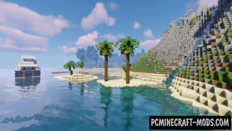 Ambition - House, Building Map For Minecraft