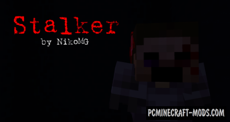 Stalker - Horror, Puzzle Map For Minecraft