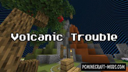 Volcanic Trouble - PvP, Minigame Map For MC