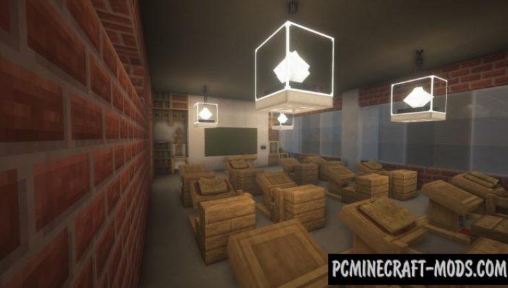 School Escape! - Puzzle Map For Minecraft