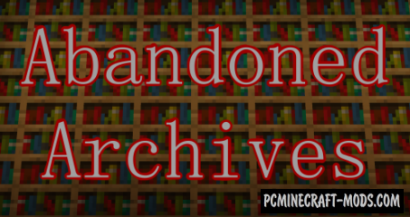 Abandoned Archives - Adventure Map For Minecraft
