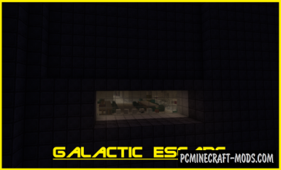 Galactic Escape - Puzzle Map For Minecraft