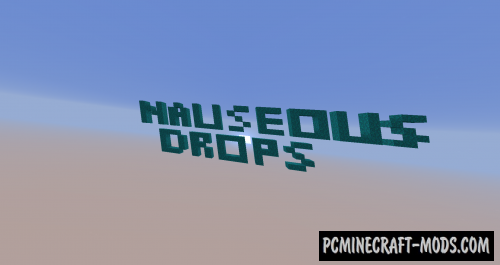 Nauseous Droppers - Parkour Map For Minecraft