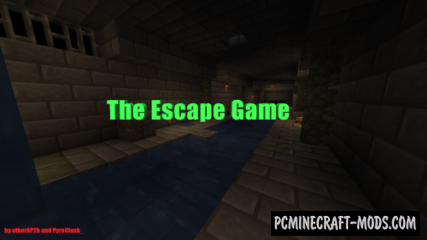 The Escape Game - Puzzle Map For Minecraft