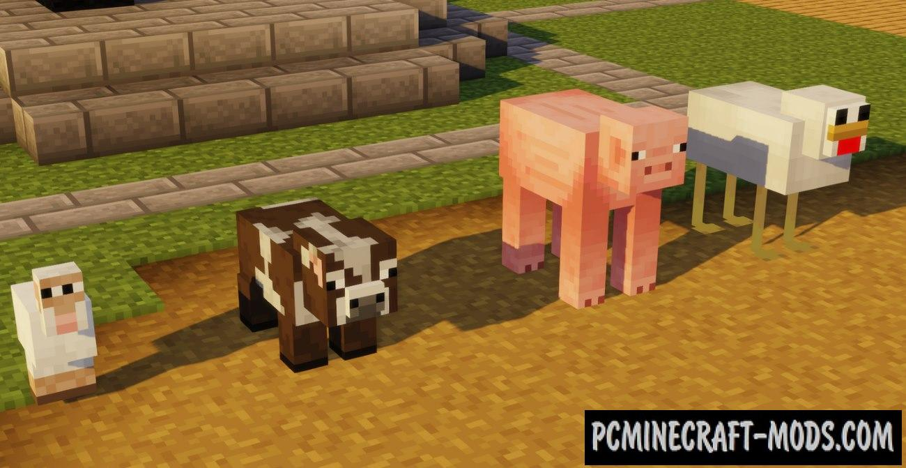 Minecraft: Cursed Edition! Mod-Texture Pack For 1.16.5, 1.12.2