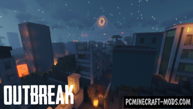 Outbreak - Adventure Map For Minecraft