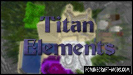 Titan Elements - Adventure Map For Minecraft