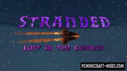 Stranded: Lost in the Cosmos - Adv Map For Minecraft