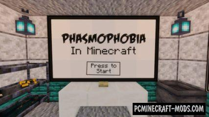 Phasmophobia - Horror, Adventure Map For MC