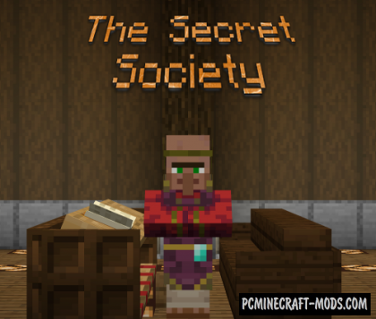 The Secret Society - Puzzle Map For Minecraft