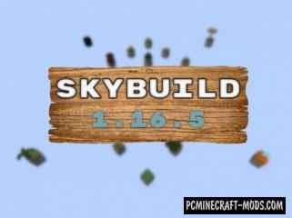 Sky Build - Survival Map For Minecraft