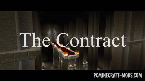 The Contract - Horror Map For Minecraft