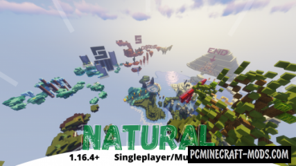 Natural - Parkour Map For Minecraft