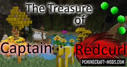 The Treasure of Captain Redcurl - Adventure Map