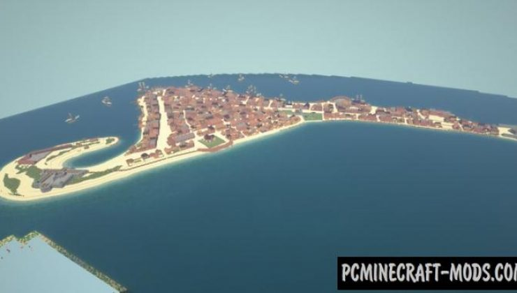 Port Royal: The Buccaneer Paradise - City Map For MC