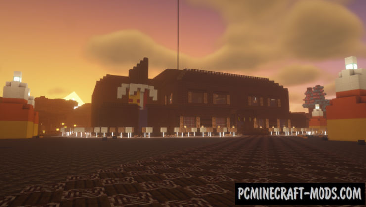 Confectionary Carnival - Adventure Map For Minecraft