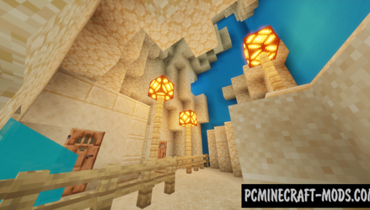 Parkour Staircase Map For Minecraft