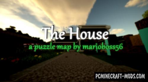 The House - Puzzle Map For Minecraft