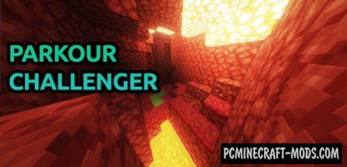 Parkour Challenger Map For Minecraft