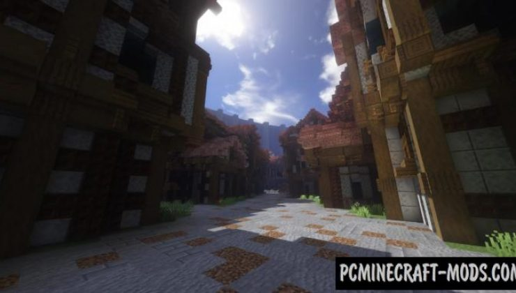 Attack on Titan: Shiganshina - City Map For Minecraft