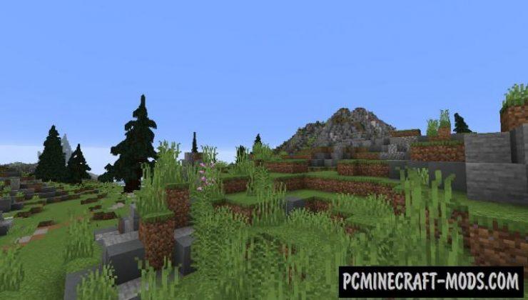 Richard Island - Custom Terrain Map For Minecraft
