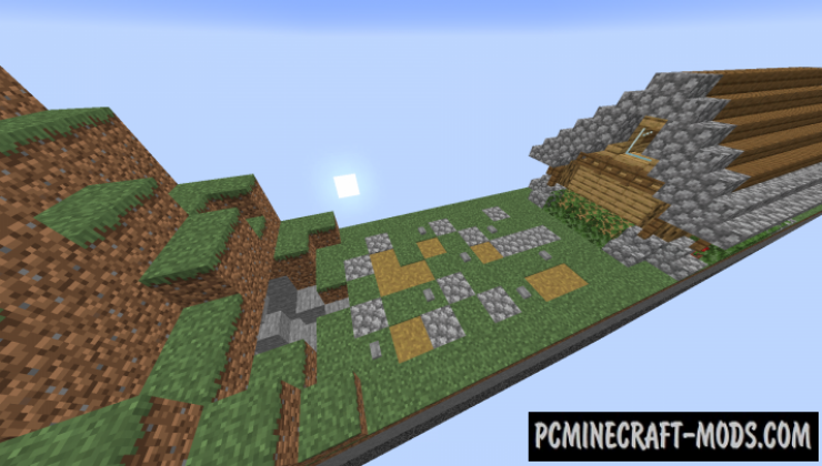 A Minecraft Day - Puzzle Map For Minecraft