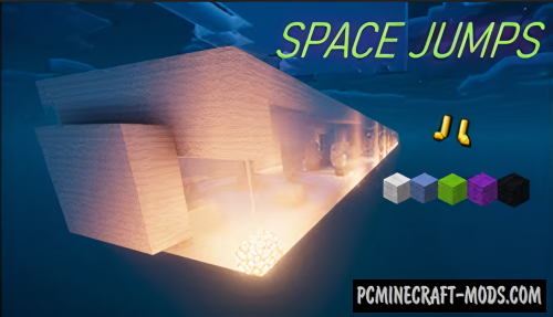 Space Jumps - Parkour Map For Minecraft