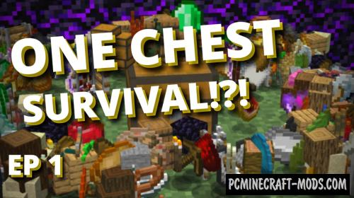 One Chest Survival Map For Minecraft