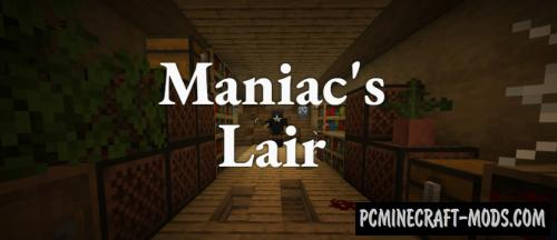 Maniac's Lair - Coop Puzzle Map For Minecraft