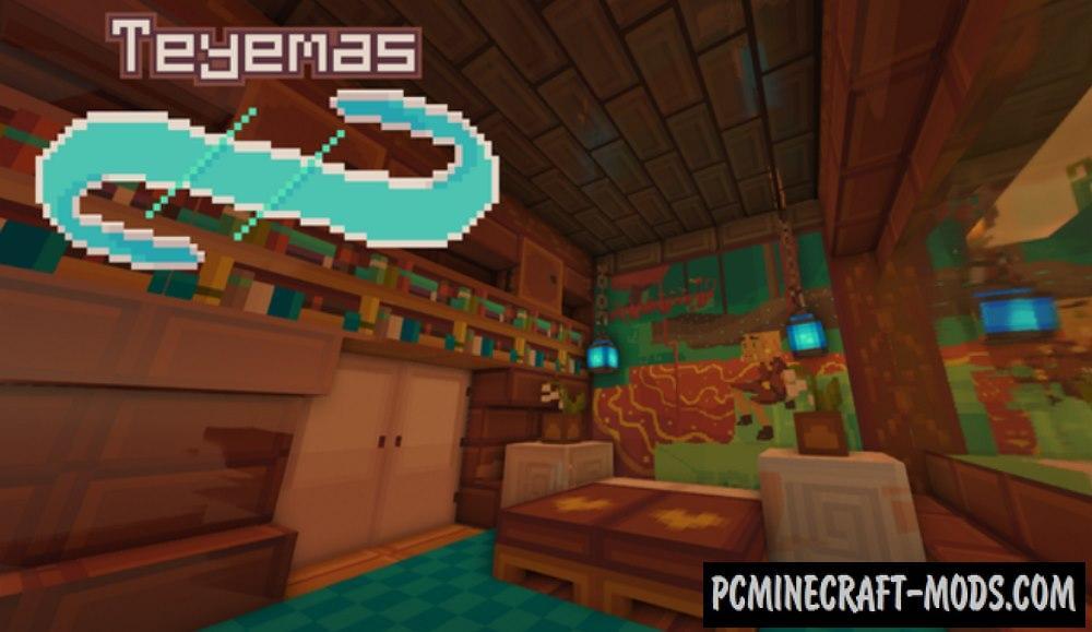 Teyemas 16x Resource Pack For Minecraft 1.17, 1.16.5, 1.16.4