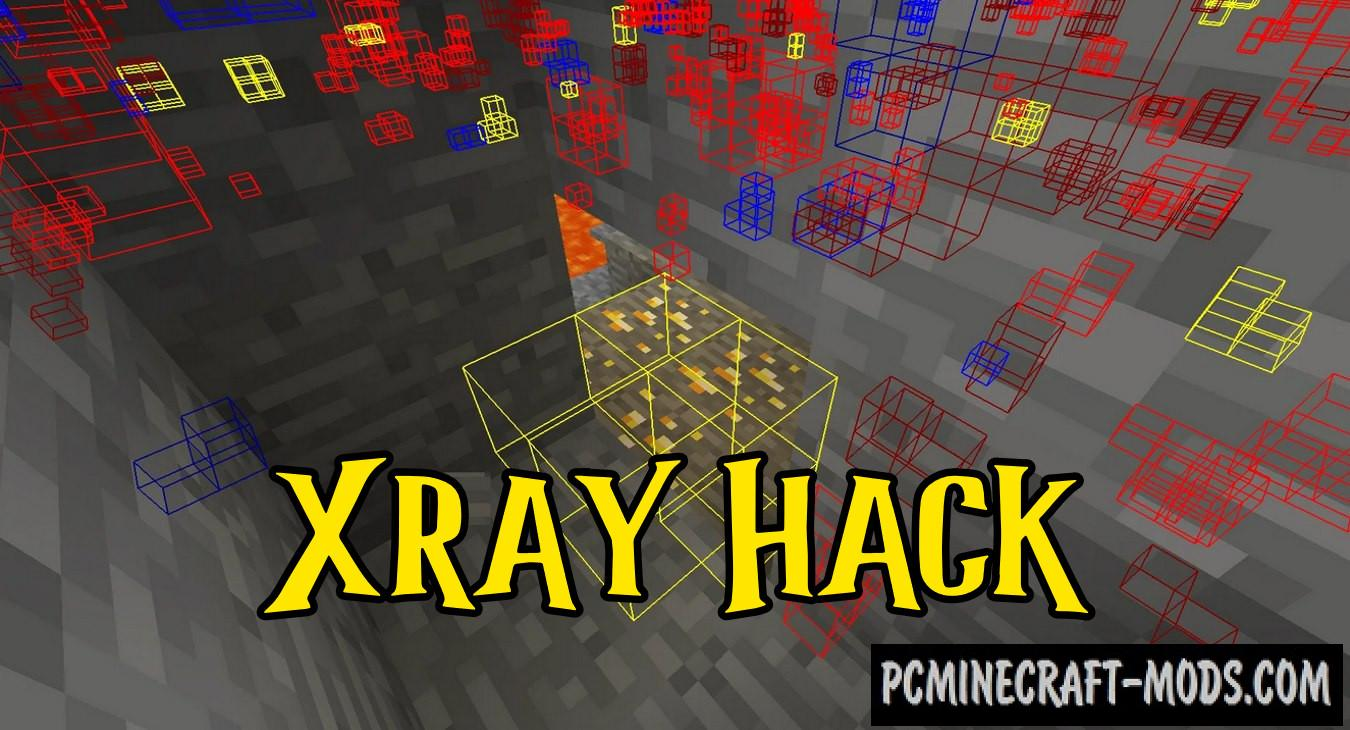 XRay Fullbright Mod For Forge, Fabric, Optifine 1.17, 1.16.5