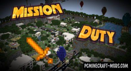 Mission Duty - Minigames Map For Minecraft